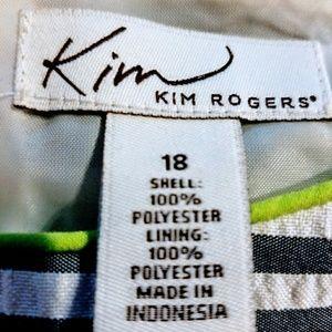 Kim Rogers Dresses - 🌿$ Reduced..Kim Rogers Sleeveless Summer Dress 🌿